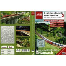 MBI 2 DVD Schwarzwald Modellbahn Hausach