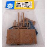 Kibri 9690 H0 Bausatz Brückenpfeiler H=8cm