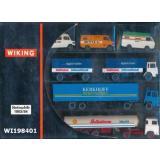 Wiking 198401 Werbemodelle 1983/84 Set mit 6 Fahrzeugen