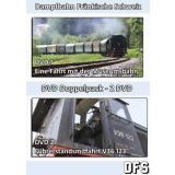 Dampfbahn Fränkische Schweiz - DVD Doppelpack - Eine Fahrt mit der Museumsbahn - Führerstandsmitfahrt V36 123