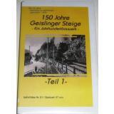 AC51 VHS Video 150 Jahre Geislinger Steige (2000) Teil 1
